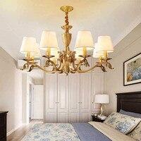 ヴィンテージ現代の LED シャンデリアランプシェード光沢のシャンデリアベッドルームダイニングルーム decoretive led ライト -