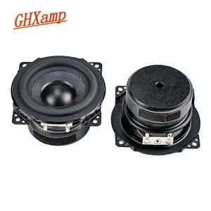 Image 1 - Ghxamp 3 inch Full Range Speaker 8ohm 15W Woofer 77mm Loudspeaker Rubber Edge Woven Basin For 2.0 Surround Speaker 2PCS
