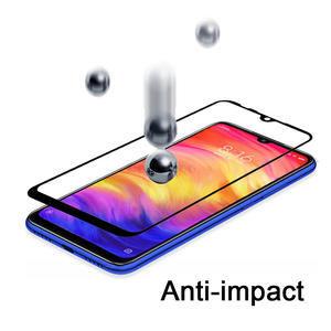 Image 4 - glass For Xiaomi redmi note 7 Full Tempered Glass screen protector For Xiaomi xiomi Redmi note7 protective Film Front touch glas