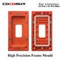 Novecel высокоточная рамка прессформы удерживающее давление приспособление с магнитной оранжевой для iPhone X / Xs / XS MAX/11 Pro/11 Pro Max