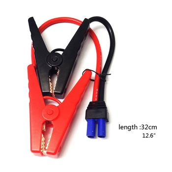 EC5 Car Jumper Cable Alligator Clips to EC5 Connector for 12V Portable Emergency Battery Car Jump Starter Booster image