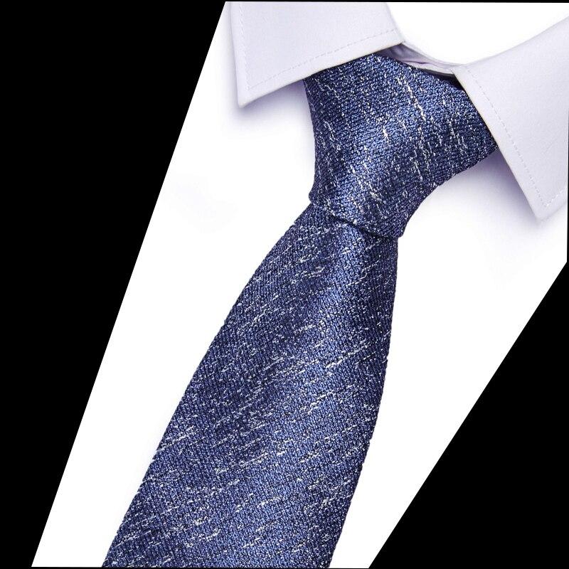 2020 New   Classic Neckties Classic Men's  Wedding Ties Jacquard Woven 100% Silk 6cm Men   Neck Ties