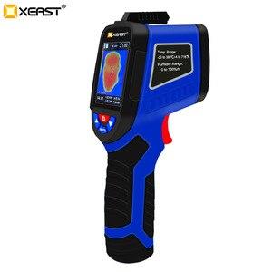 Image 4 - Быстрая доставка, XEAST может измерить температуру человеческого тела, влажность, инфракрасная камера, 3 в 1 Многоцелевой ЖК экран, 2020
