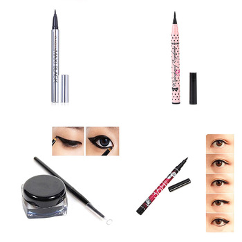1 pcs Ladies Black Liquid Eyeliner Long-lasting Waterproof Eye Liner Pencil