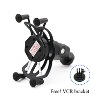 Camera VCR Phone Holder For HONDA CRF250L CRF230L CRF230M CRM250R/AR XR 250/400/600R/650L Motorcycle USB Charger GPS Navigation|Motorcycle Electronics Accessories| |  -