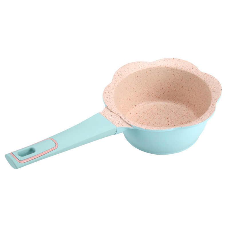 Zestaw garnków garnki kuchenne zupy i garnki dziecko suplement diety garnek do mleka Maifan kamień non-stick garnki do gotowania dla dzieci małe