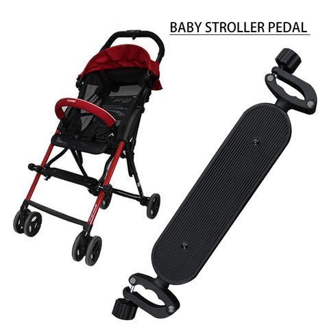 acessorios carrinho de bebe pedal apoio para os pes ajustavel longo pe pallet portatil guarda