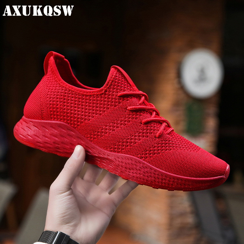 Summer Classic Unisex Sneakers Fashion Mesh Breathable Men's Soft Casual Shoes Outdoor Walking Jogging Shoes Zapatillas Hombre