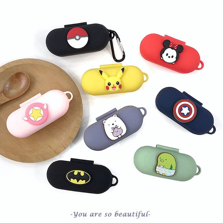 DIY Cute 3D Silicone Case For Huawei FreeBuds For Honor Flypods Lite Youth Version Earphone Protective Cover With Hook