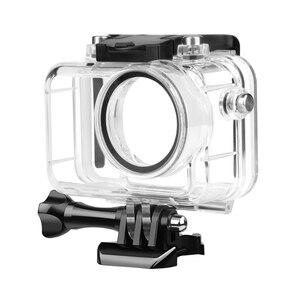 Image 2 - تبادل لاطلاق النار تحت الماء مقاوم للماء ل DJI oomo عمل كاميرا الغوص الغلاف الواقي قذيفة ل DJI oomo الرياضة ملحقات الكاميرا
