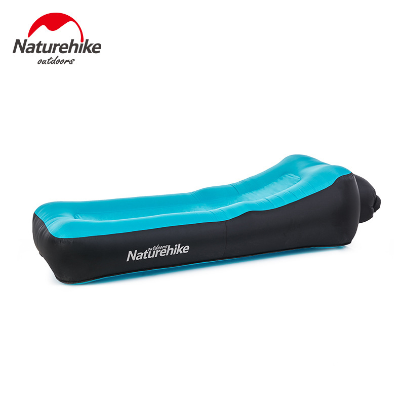 Naturehike Inflatable Beach Sofa Double-Layer Inflatable Bed Lunch Break Lazy Air Cushion Chair For Outdoor Camping Travel