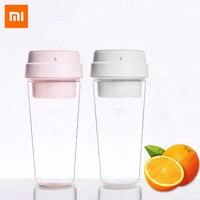 Xiaomi espremedor de frutas elétrico handheld smoothie maker liquidificador mexendo recarregável mini portátil copo suco água 3