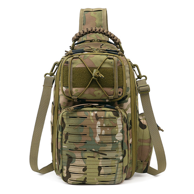 Tactical Chest Bag Military Army Laser Molle Sling Shoulder Backpack Men Outdoor Hunting Travel Camping Fishing Camo Bag 1