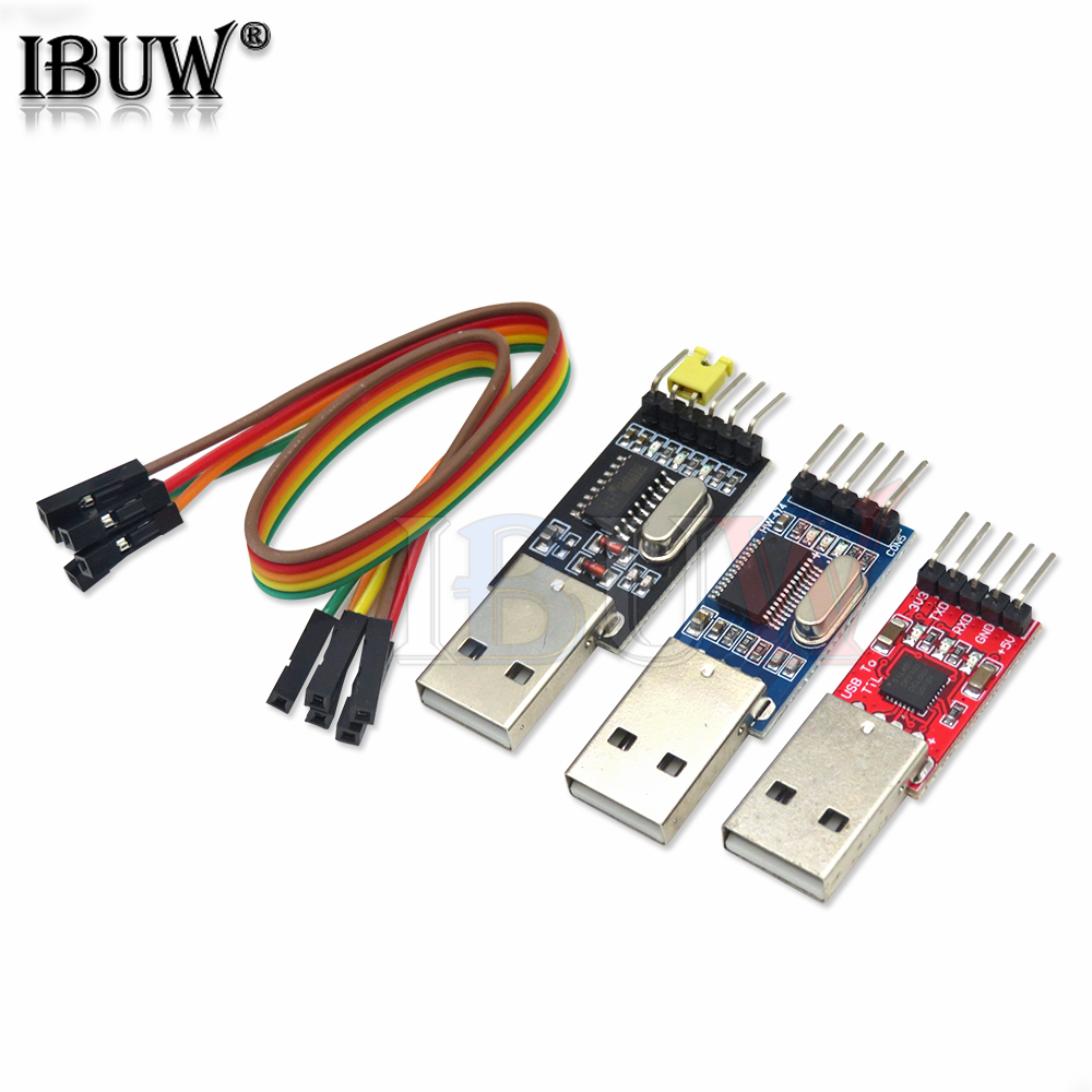 Pl2303hx cp2102 ch340g usb para ttl pl2303 cp2102 5pin usb para uart ttl módulo para arduino