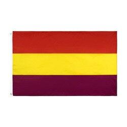 Segunda bandeira da república espanhola espanha banner150 nacional * 90cm 3ft x 5ft bandeira em todo o mundo ao ar livre