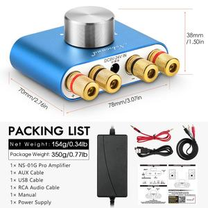 Image 5 - Nobsound mini amplificador bluetooth 2020 tpa3116, amplificador digital, hifi stereo, sem fios, receptor de áudio para carro, 5.0
