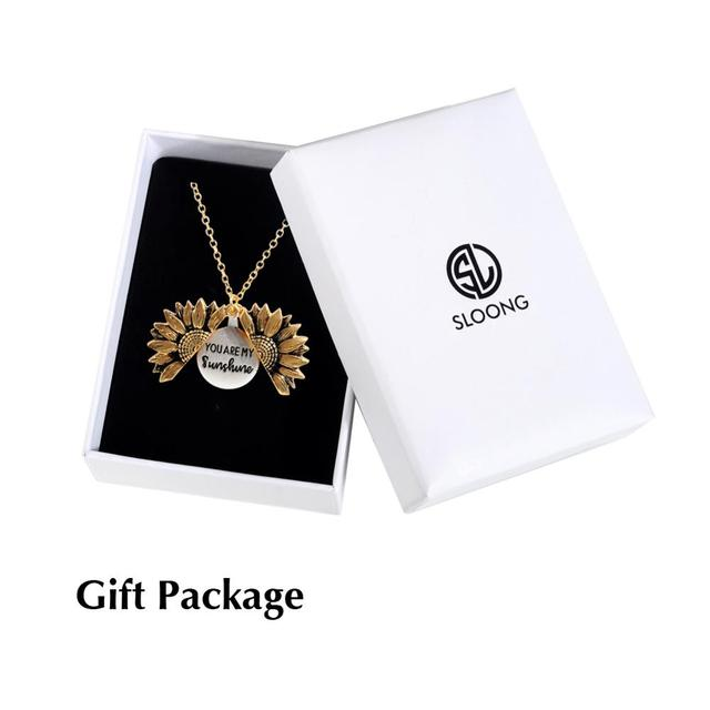 Gold Necklace with Pendant - 6 Styles 1