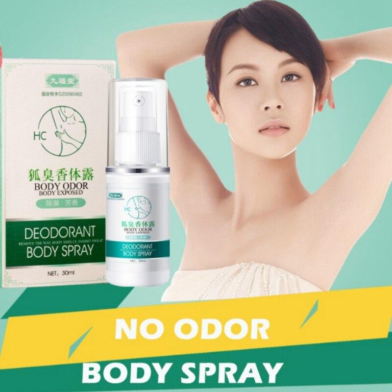 New30ml Antiperspirant Cleaner Deodorant Spray Liquid Personal Care Anti-Sweat Spray For Men And Women Odor Remover DB87