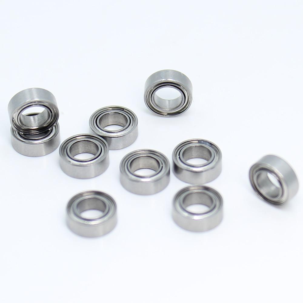 SMR74ZZ Bearing 4x7x2.5 Mm 10PCS Double Shielded Stainless Steel SMR74 Z ZZ Ball Bearings SMR74Z SMR74-2Z