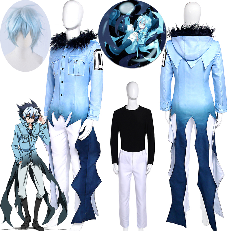 Servamp Kuro Cosplay Costume Stage Performance Clothes , Perfect Custom For You