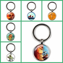 Fashion New Cute Cartoon Lion Child Pendant Necklace Leader Team Fan Accessories Glass Gift Charm Handmade Collar Souvenirs