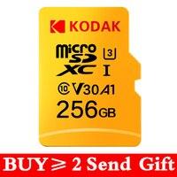Kodak micro sd microsd da 256gb 512 gb di Memoria Flash Card 16GB 32GB 64GB U1 TF 4K classe 10 tarjeta Micro SD Card 128 gb U3 UHS-I