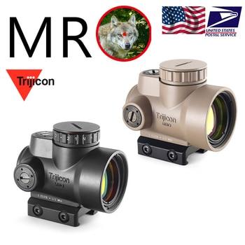 Trijicon-mira holográfica de punto rojo MRO, mira de Caza, Rifle iluminada, equipo de francotirador para mira de Rifle táctico
