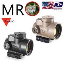 Stock américain Trijicon MRO holographique point rouge portée de visée chasse lunette de visée illuminée Sniper équipement pour fusil tactique portée Caza