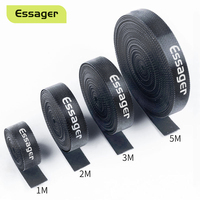 Essager Cable Organizer Wire Winder Clip Earphone Mouse Holder Cord Protector Cable Management For iPhone USB Cable Protection