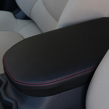 Fit For toyota rav4 xa50 2019 2020 Accessories Car styling PU Leather Center Console Armrest Box Cover Pad Protective Cover car styling center control armrest box skin cover black microfiber leather with blue stitching for toyota rav4 rav 4 2006 2014