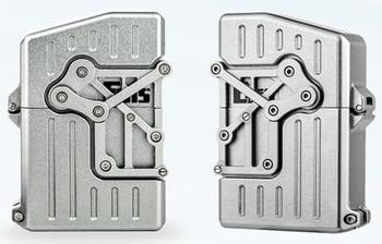 Handmade EO 8 Style Mechanical Steampunk Kerosene CNC Lighter6