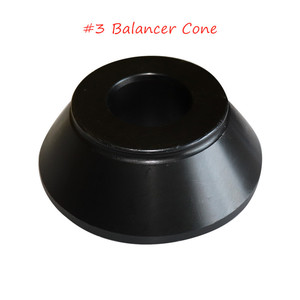 Image 1 - Best Selling Balancer Adapter Steel Cone # 3 For Tire Repair Machine Accessories