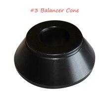 Meilleure vente adaptateur déquilibrage cône en acier #3 pour accessoires de Machine de réparation de pneus