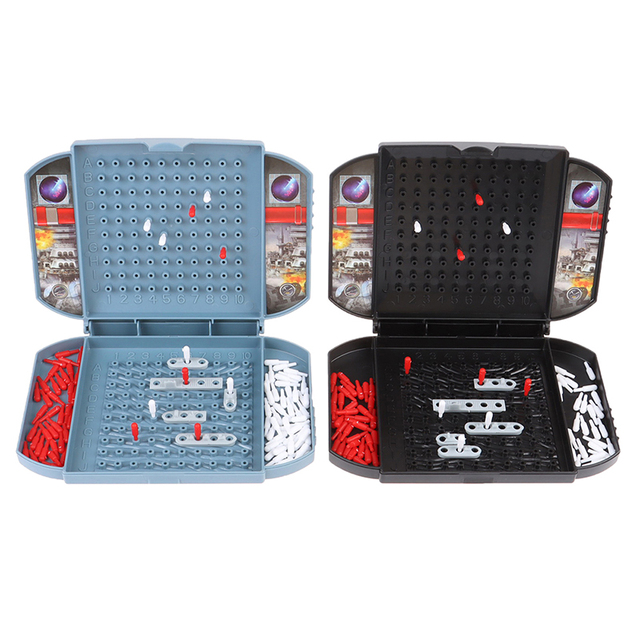 Battleship The Classic Naval Combat Strategy Board Games Board Game Classic Puzzle Game Random Color Box Packaging 6