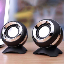 Wired Mini Computer Speakers 3.5mm AUX Jack USB Bass Stereo HiFi Speaker For For