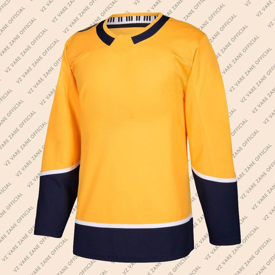 Filip Forsberg Viktor Arvidsson PK Subban Pekka Rinne Ryan Johansen Roman Josi Craig Smith Kyle Turris Nashville Hockey Jersey