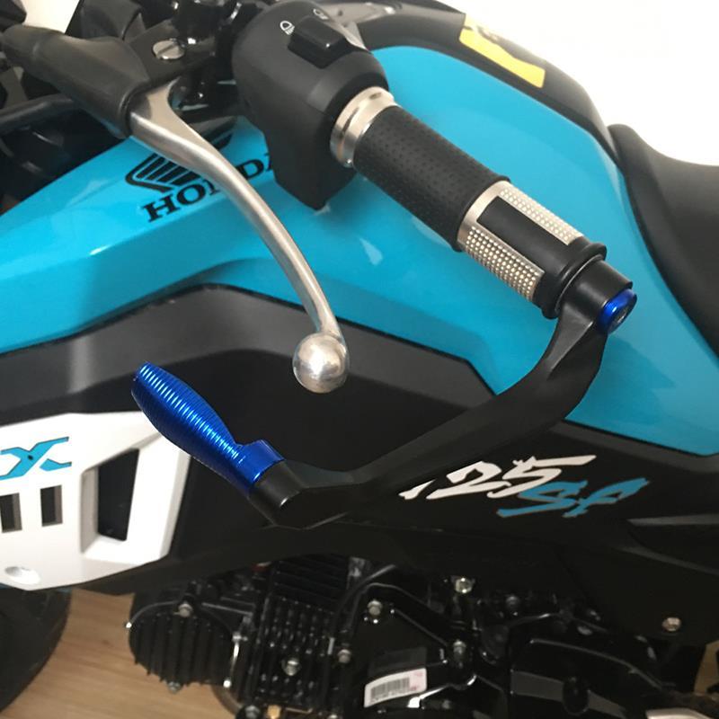 Protector de palanca de freno de aluminio CNC 3D para manillar universal de 7//8 pulgadas para la mayor/ía motocicletas deportivas y motocross y