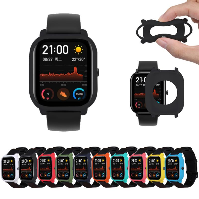 2019 New Smart Accessories Protective Case For Xiaomi Huami Amazfit GTS Watch Soft Silicone Shell