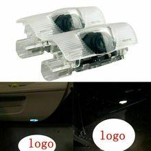 2Pcs LED Logo Door Courtesy Light Shadow Laser Projector For Lexus ES LS LX RX GX ABS+Aluminum Alloy Material Tool Accessories