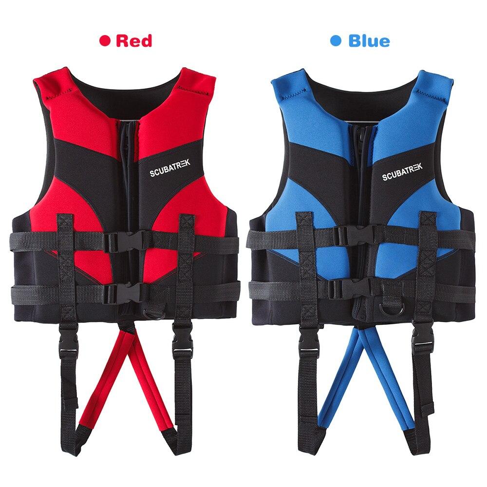 أطفال سترة نجاة الأطفال الرياضات المائية السباحة القوارب شاطئ الحياة سترة سترة نجاة للأطفال بركة البلوز