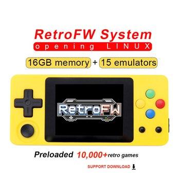 NEW LDK Game OPENDINGUX OPEN SOURCE Console RetroFW LINUX System DIY 2.6'' 16GB Nostalgic Retro Game Children Game