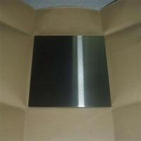 High purity tungsten sheet metal tungsten foil tungsten sheet tungsten plate tungsten target W ≥99.99%