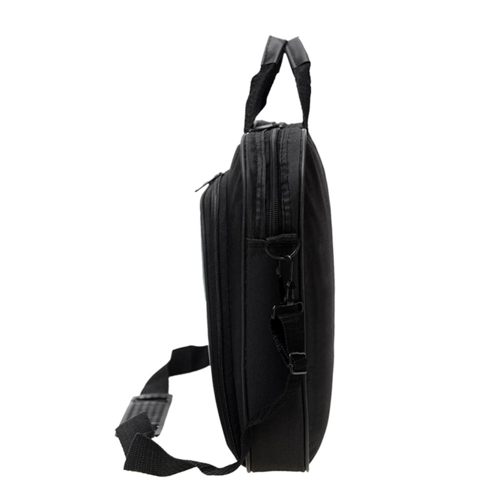Image 4 - ALLOYSEED Business Laptop Bag Portable Nylon Computer Handbags Zipper Shoulder Simple Laptop Shoulder Handbag Briefcase Black-in Laptop Bags & Cases from Computer & Office
