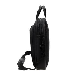 Image 4 - ALLOYSEED Бизнес сумка для ноутбука Портативный нейлон компьютер Сумки молния плечо простой ноутбук сумка Портфели черный сумка для ноутбука