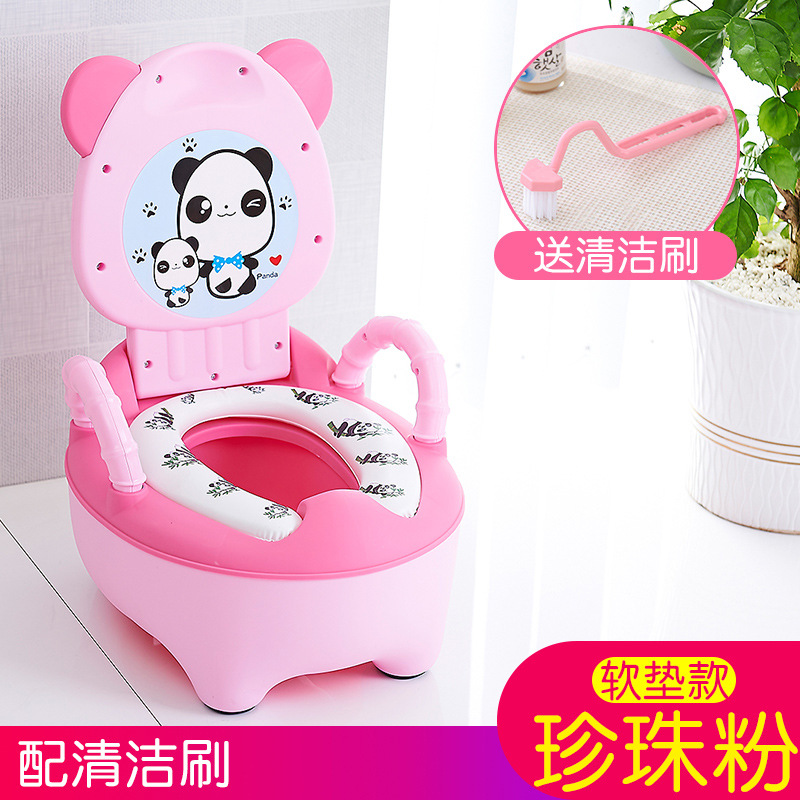 Toilet Portable Shit Of CHILDREN'S Toilet Pedestal Pan Portable Padded Boy Ring Seat GIRL'S CHILDREN'S Dual Purpose No.