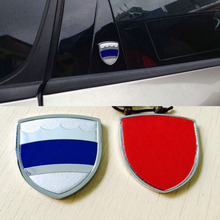 цена на For Volvo S60 V40 XC60 XC90 S70 S80 S90 V60 AWD T5 T6 Shield Metal Sticker Rear Sticker Car Trunk Sticker Emblem Badge Sticker