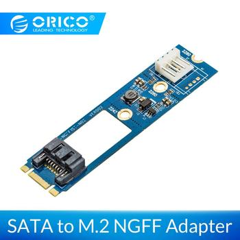 ORICO SATA 7PIN do M 2 NGFF Adapter z mocy Adapter ssd SATA do M 2 Adapter do 2242 2260 2280 obejmują moc Adapter do kart tanie i dobre opinie Other M2TS7PD-BL SATA 7PIN to M 2 NGFF Adapter Blue SATA 7PIN to M 2 NGFF SSD SATA 7PIN to M 2 NGFF(with power) 3 3V 1 5A