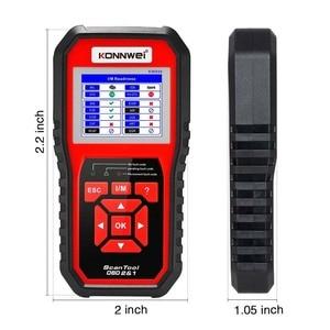 Image 4 - Scanner automatico OBD2 KONNWEI KW850 Scanner lettore di codice universale strumento diagnostico multilingue OBD 2 Scanner automatico