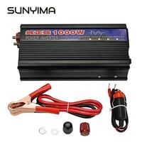SUNYIMA 1000W Pure Sine Wave Inverter DC12V/24V To AC220V 50HZ Power Converter Booster For Car Inverter Household DIY
