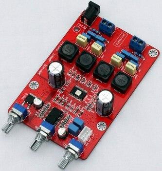 2020 nueva Clase D 2*50W 6-8 euros 2A Digital placa amplificadora de potencia de canal 2,0 TPA3116D con 1036 tono placa amplificadora de potencia